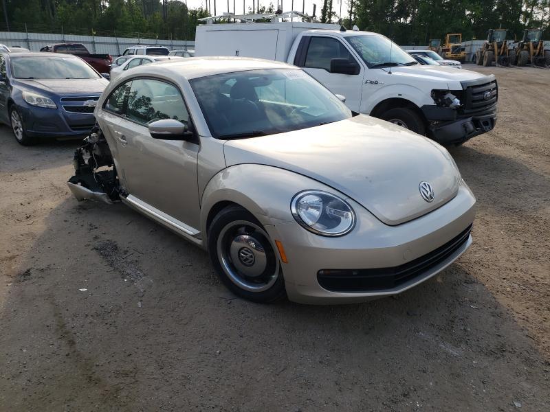Volkswagen salvage cars for sale: 2012 Volkswagen Beetle