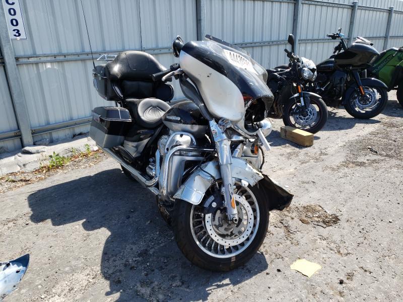 Salvage cars for sale from Copart Jacksonville, FL: 2013 Harley-Davidson Flhtk Elec