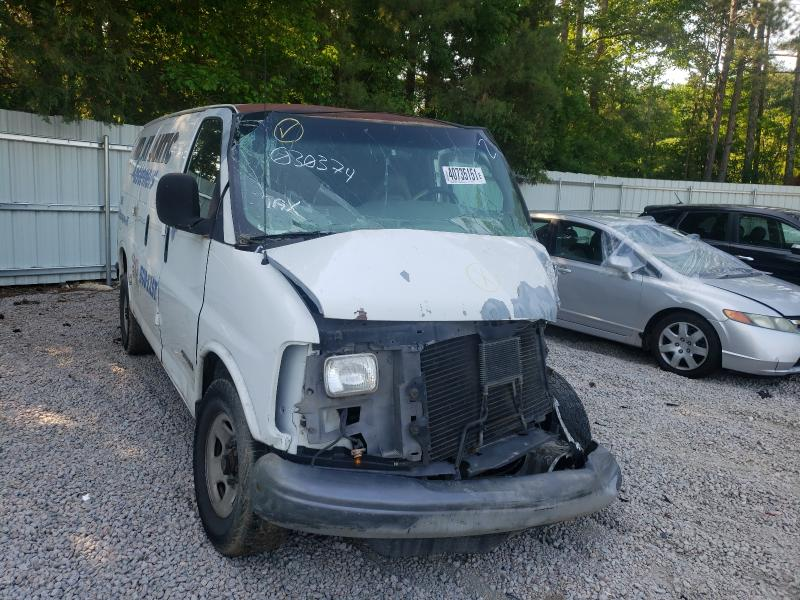 Chevrolet Express salvage cars for sale: 1999 Chevrolet Express