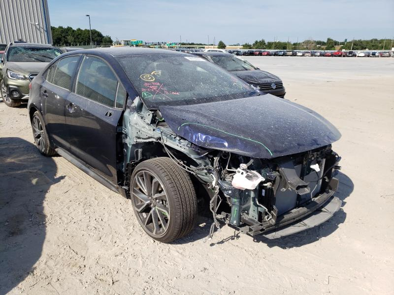 Salvage cars for sale from Copart Apopka, FL: 2021 Toyota Corolla SE