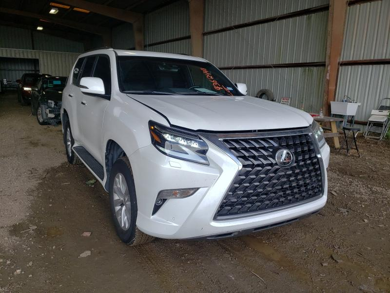 Salvage cars for sale from Copart Houston, TX: 2021 Lexus GX 460 PRE