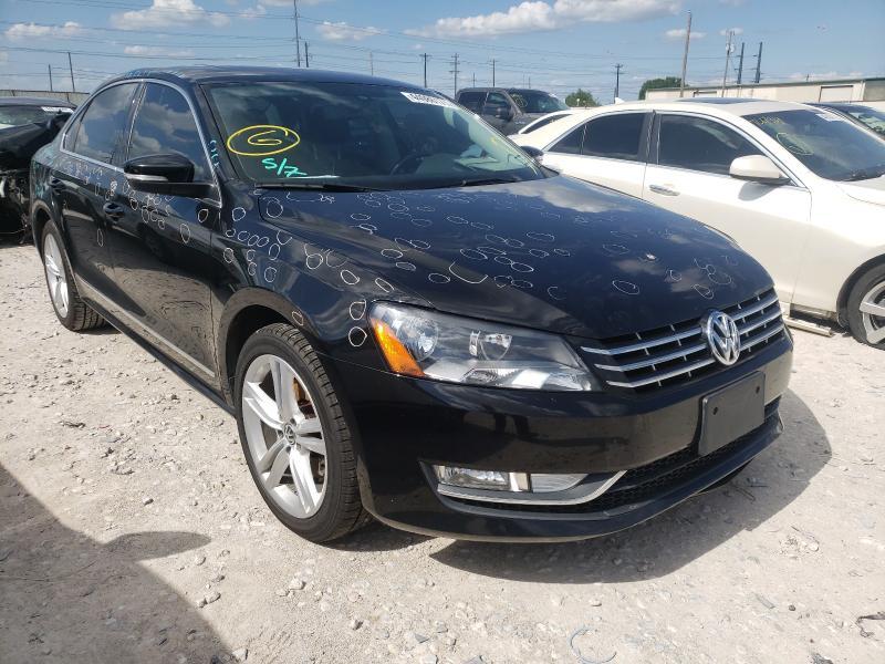 Salvage cars for sale from Copart Haslet, TX: 2013 Volkswagen Passat SE
