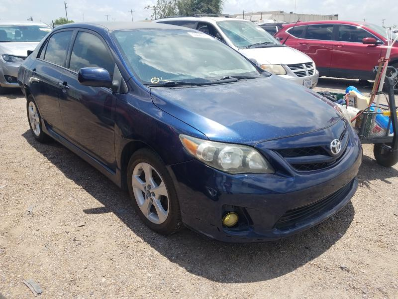 Salvage cars for sale from Copart Mercedes, TX: 2013 Toyota Corolla BA