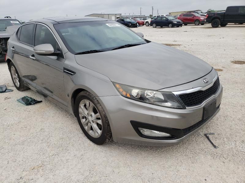 Salvage cars for sale from Copart San Antonio, TX: 2013 KIA Optima EX