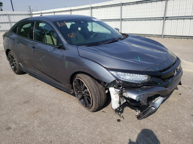 Vehiculos salvage en venta de Copart Dunn, NC: 2018 Honda Civic Sport