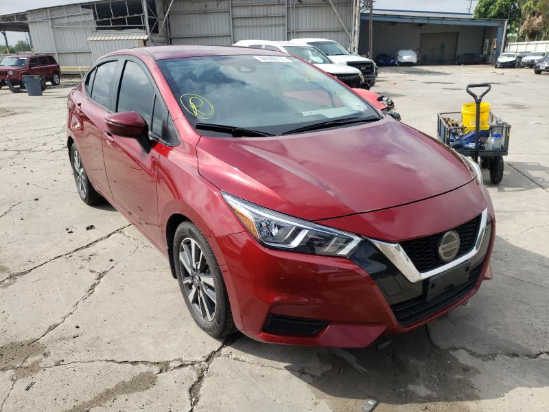 Salvage cars for sale from Copart Corpus Christi, TX: 2020 Nissan Versa SV