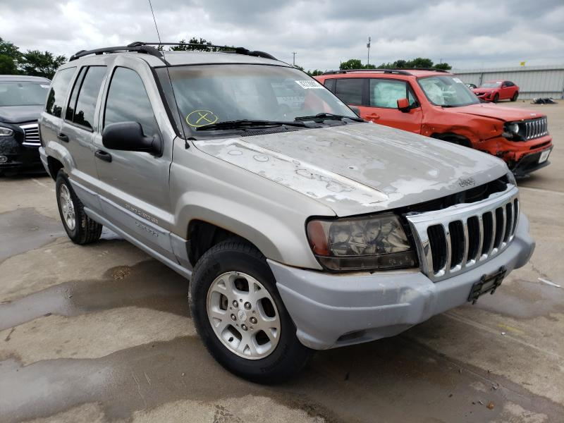 Salvage cars for sale from Copart Wilmer, TX: 2000 Jeep Grand Cherokee