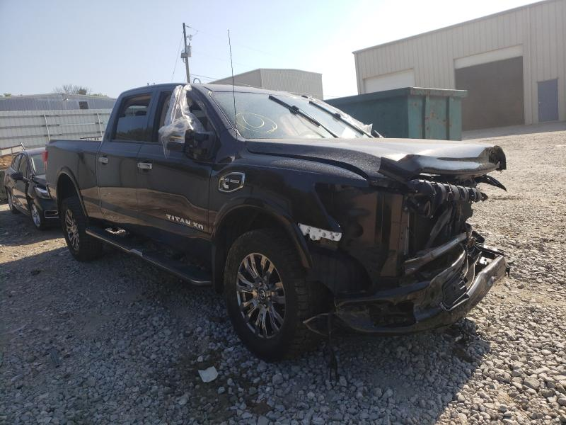 Salvage cars for sale from Copart Gainesville, GA: 2016 Nissan Titan XD S
