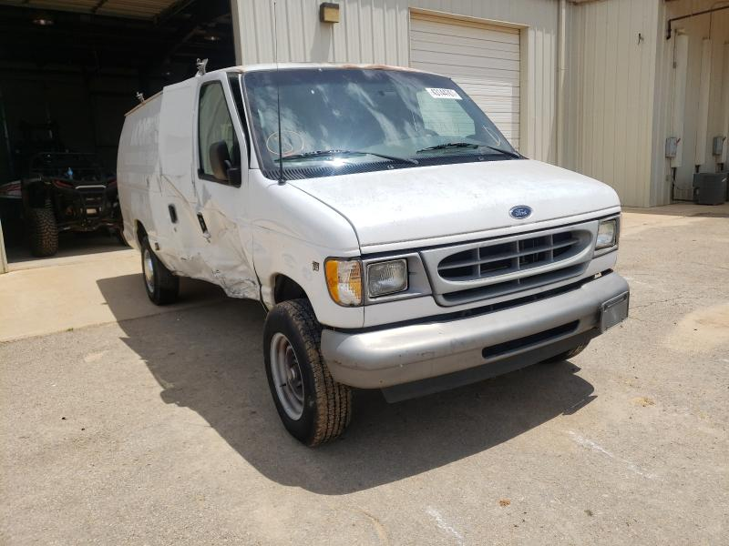 Salvage cars for sale from Copart Tanner, AL: 2001 Ford Econoline