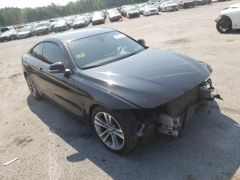 Salvage cars for sale at Harleyville, SC auction: 2014 BMW 428 I