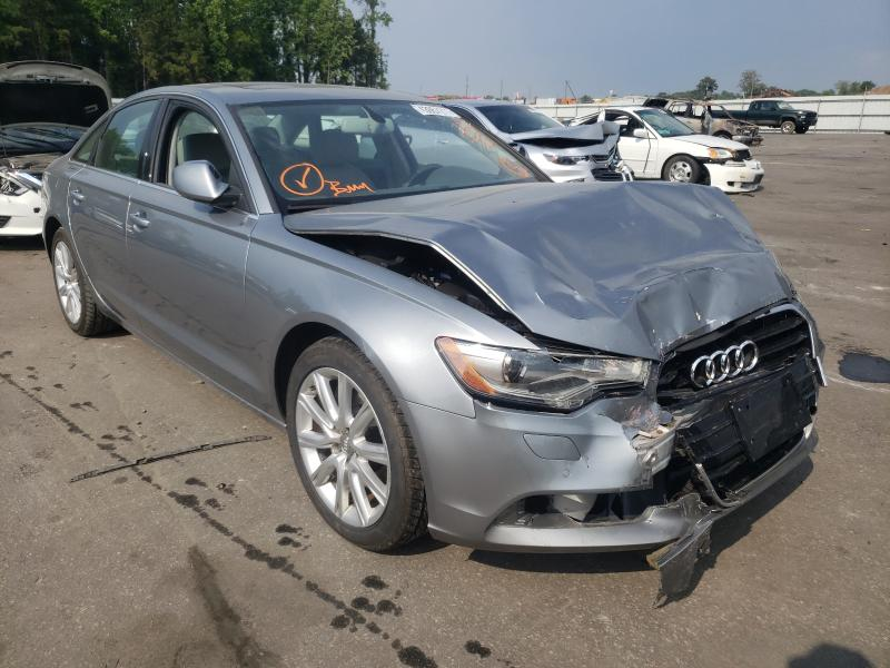 Salvage 2014 AUDI A6 - Small image. Lot 43957211