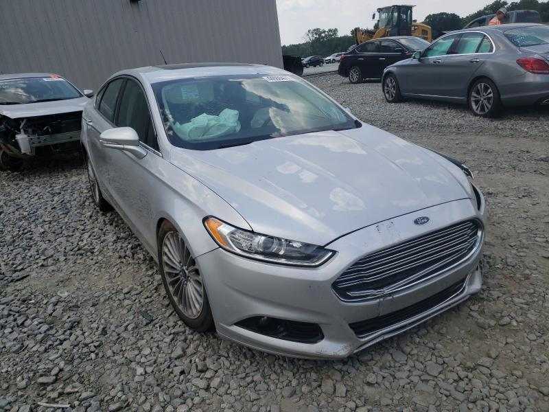 Salvage cars for sale from Copart Byron, GA: 2016 Ford Fusion Titanium