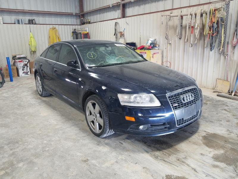 Salvage cars for sale at Abilene, TX auction: 2008 Audi A6 3.2