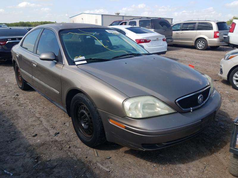 Vehiculos salvage en venta de Copart Mercedes, TX: 2002 Mercury Sable GS