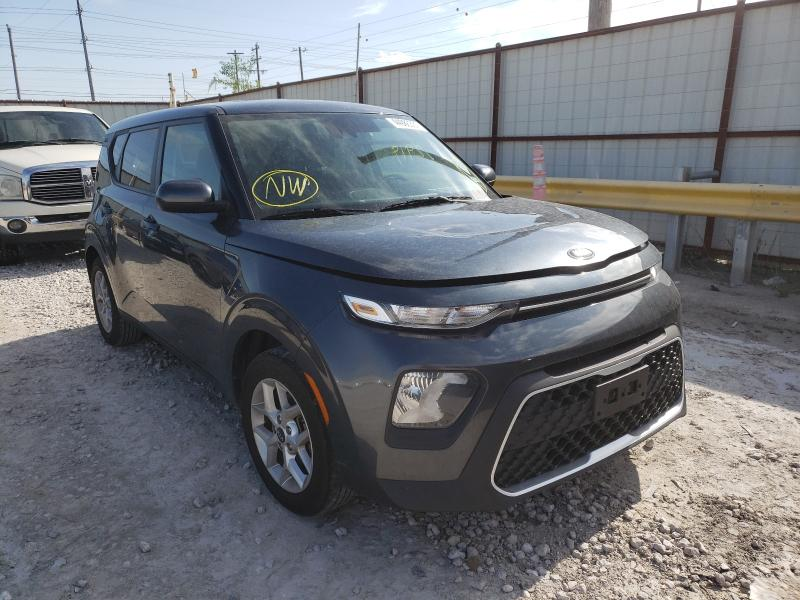 Salvage cars for sale from Copart Haslet, TX: 2020 KIA Soul LX