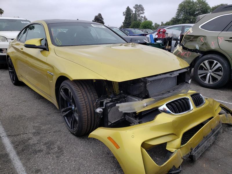 BMW Vehiculos salvage en venta: 2018 BMW M4
