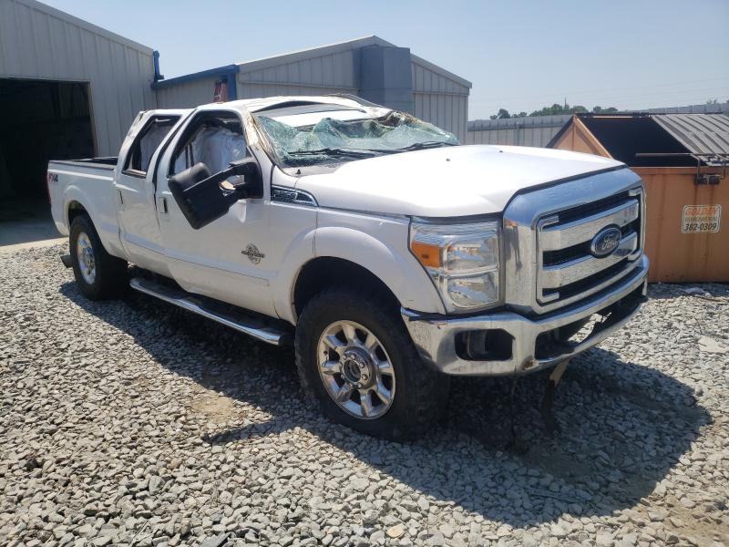 Salvage cars for sale from Copart Tifton, GA: 2014 Ford F250 Super