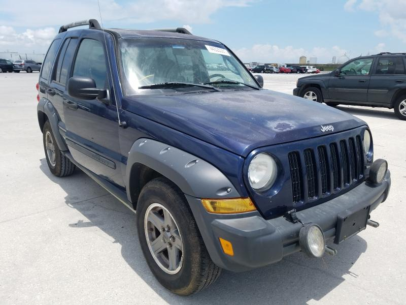 Salvage cars for sale from Copart New Orleans, LA: 2006 Jeep Liberty