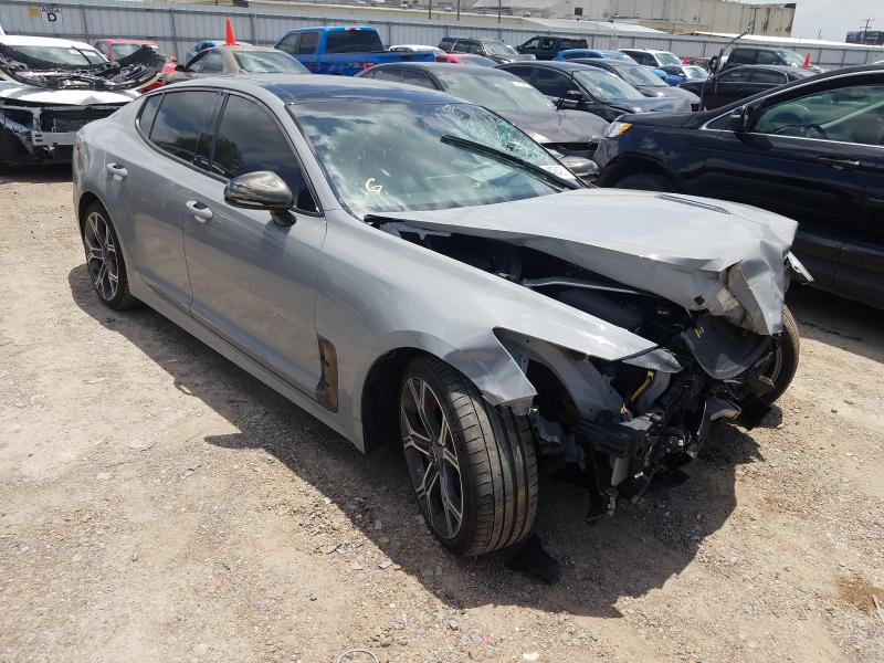 Salvage cars for sale from Copart Mercedes, TX: 2020 KIA Stinger GT