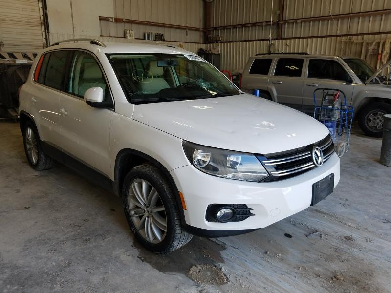 Salvage cars for sale from Copart Abilene, TX: 2013 Volkswagen Tiguan S