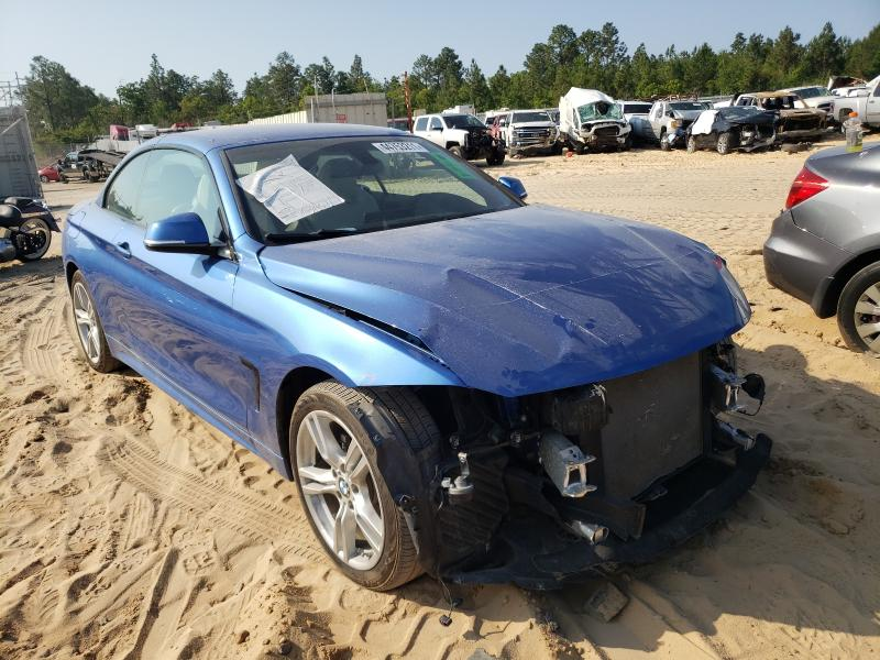 Salvage cars for sale at Gaston, SC auction: 2018 BMW 430XI