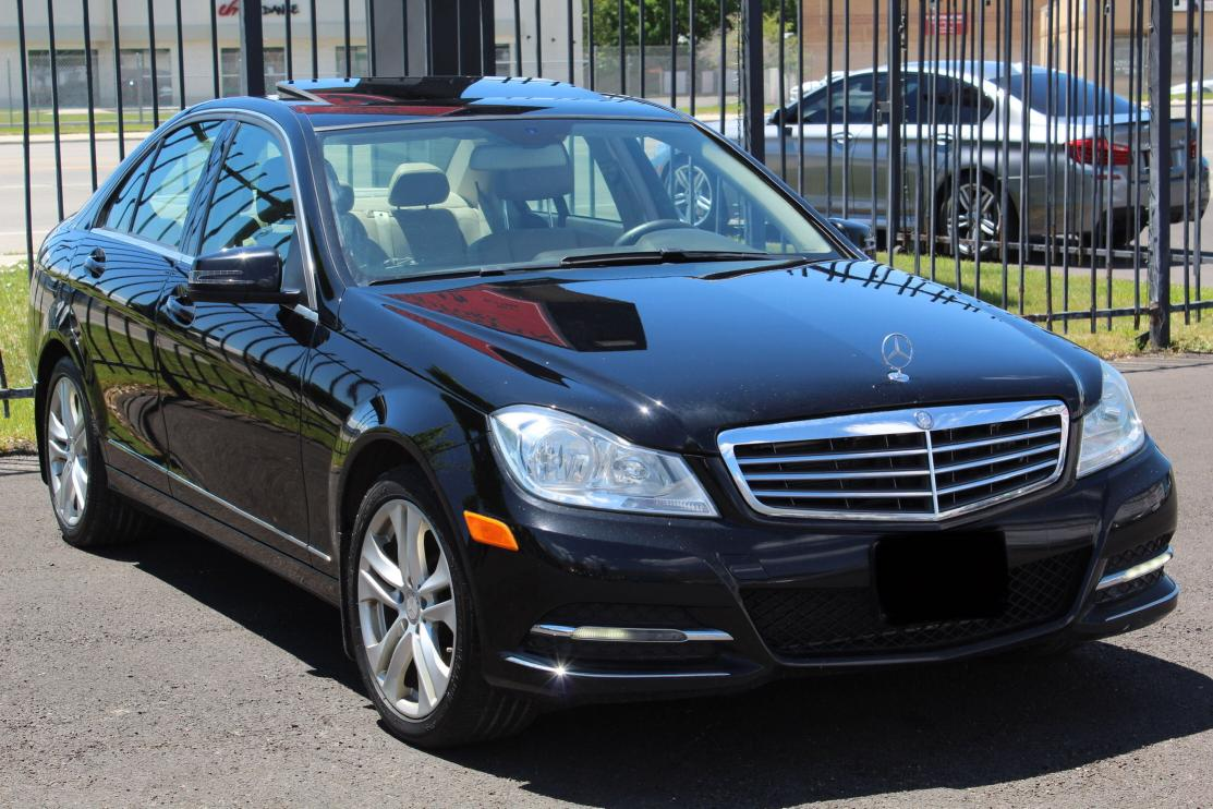 Salvage cars for sale from Copart Magna, UT: 2014 Mercedes-Benz C 300 4matic