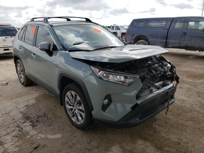Salvage cars for sale from Copart Temple, TX: 2020 Toyota Rav4 XLE P