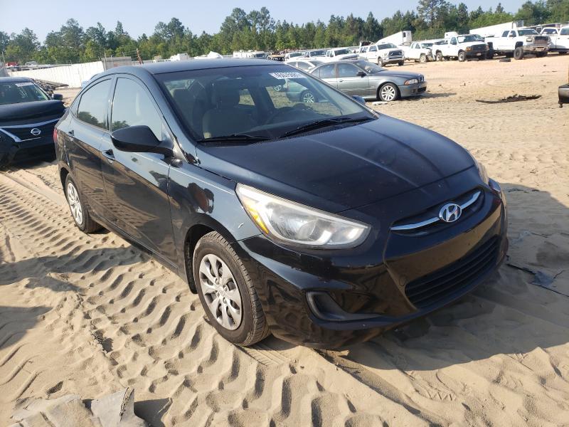 Hyundai Accent salvage cars for sale: 2016 Hyundai Accent