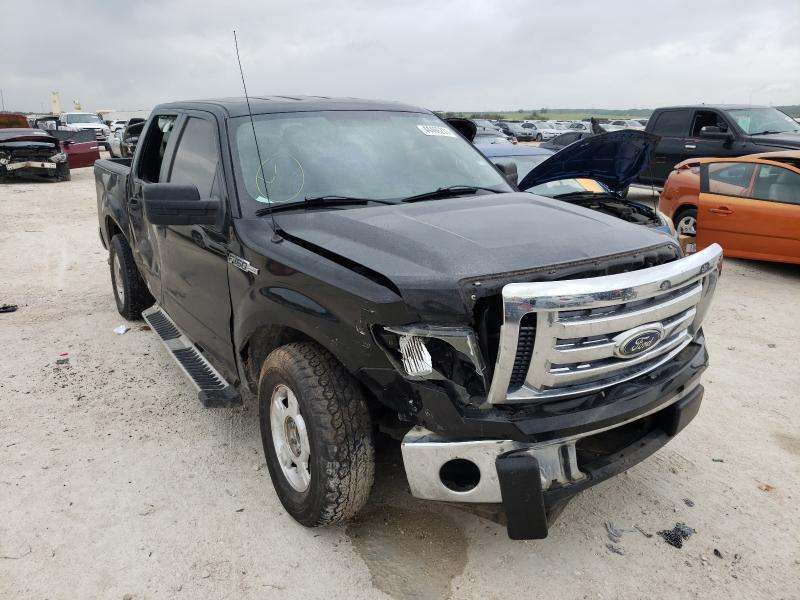 Salvage cars for sale from Copart New Braunfels, TX: 2011 Ford F150 Super