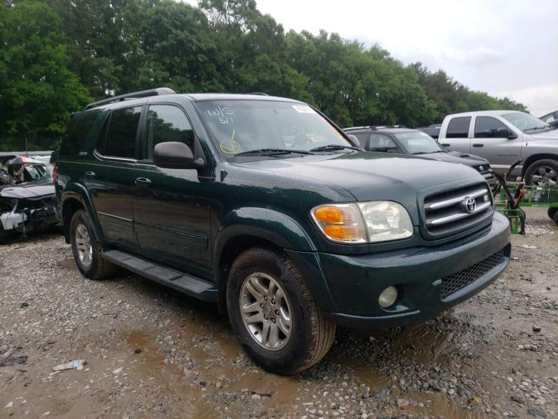 Salvage cars for sale from Copart Austell, GA: 2004 Toyota Sequoia LI