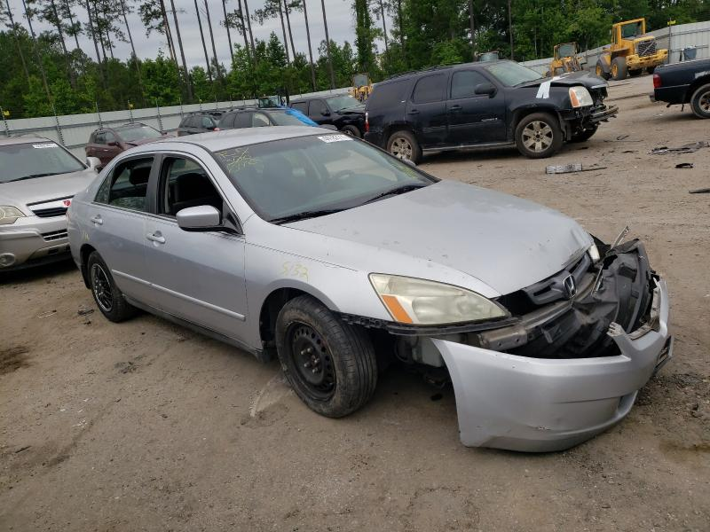 Salvage cars for sale from Copart Harleyville, SC: 2004 Honda Accord LX