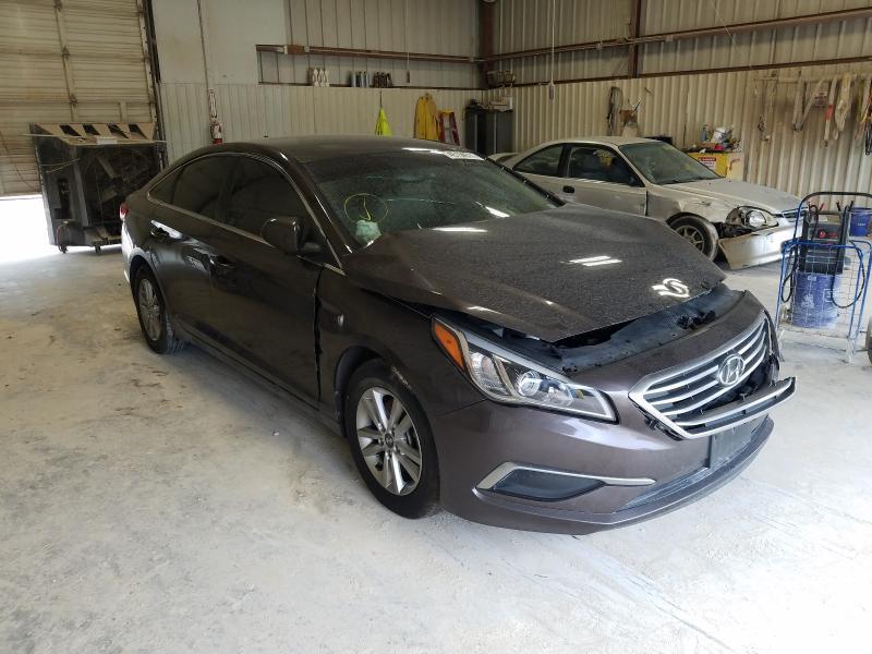 Salvage cars for sale from Copart Abilene, TX: 2016 Hyundai Sonata