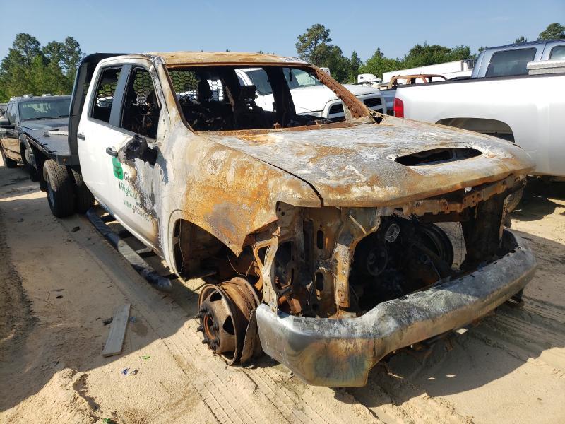 Salvage trucks for sale at Gaston, SC auction: 2020 Chevrolet Silverado
