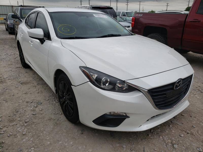 Salvage cars for sale from Copart Haslet, TX: 2016 Mazda 3 Sport