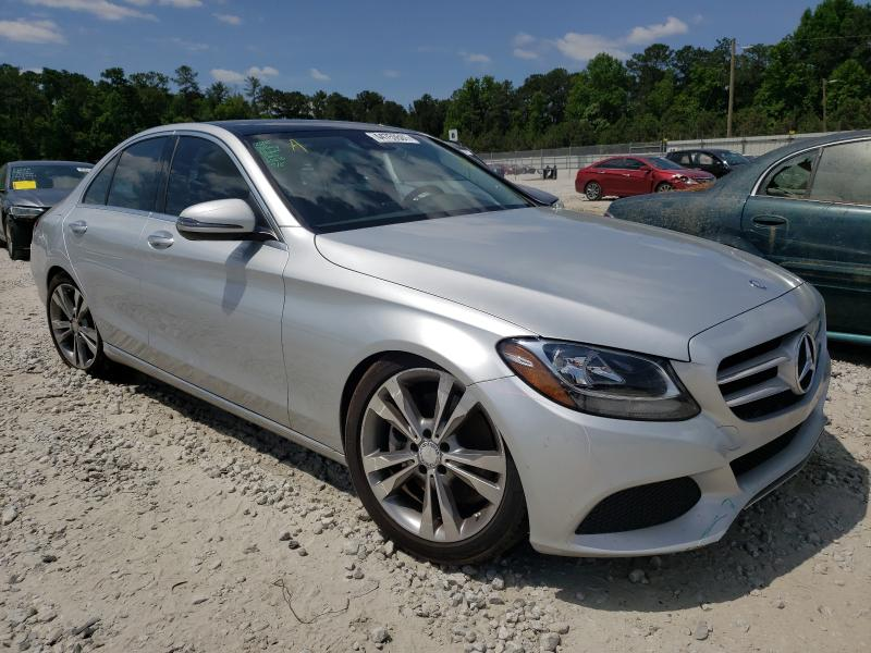 Salvage cars for sale from Copart Ellenwood, GA: 2016 Mercedes-Benz C300