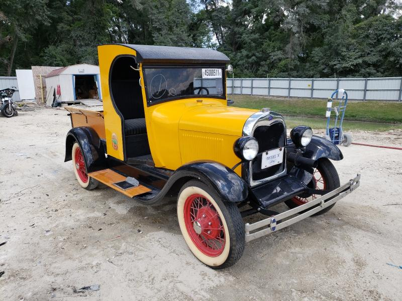 Salvage cars for sale from Copart Ocala, FL: 1930 Ford Model A