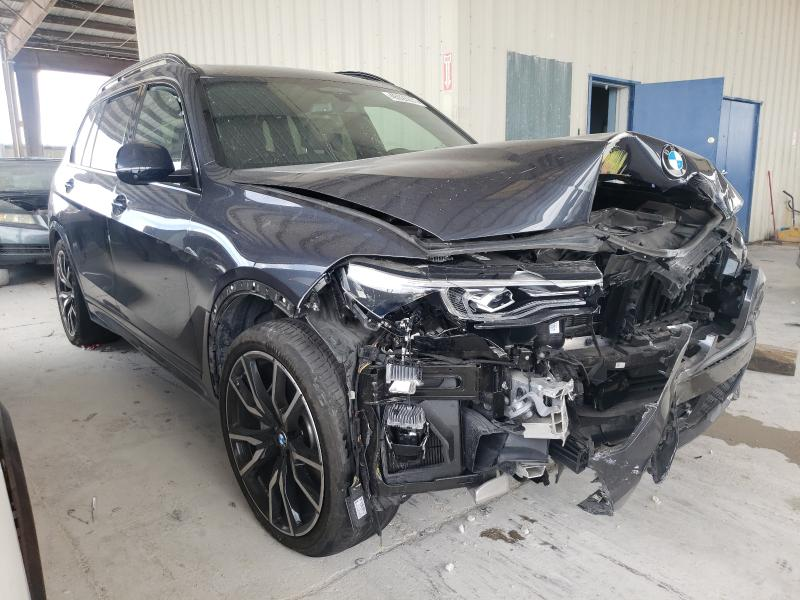 Salvage cars for sale at Homestead, FL auction: 2019 BMW X7 XDRIVE5