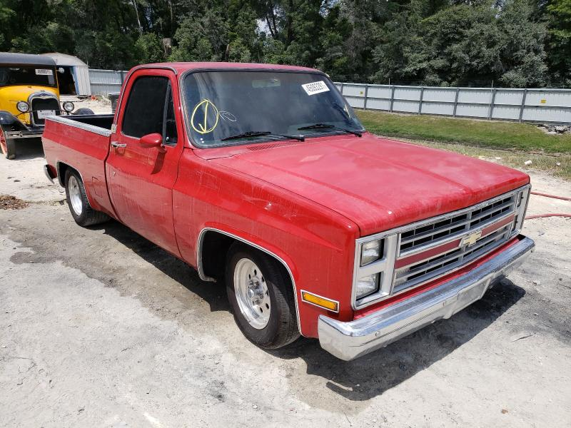 Salvage cars for sale from Copart Ocala, FL: 1987 Chevrolet R10