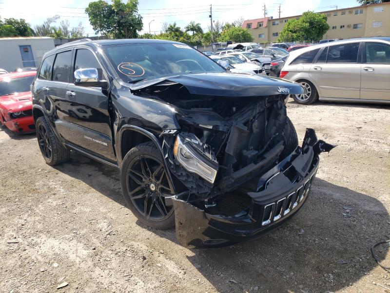 Salvage cars for sale from Copart Opa Locka, FL: 2015 Jeep Grand Cherokee
