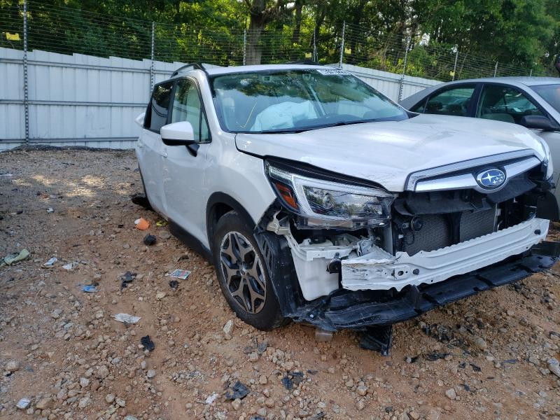 Salvage cars for sale from Copart Austell, GA: 2021 Subaru Forester P