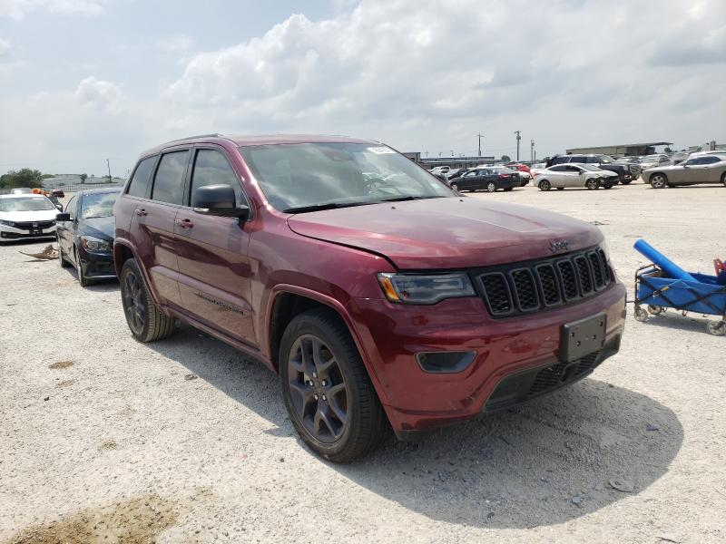 Salvage cars for sale from Copart San Antonio, TX: 2021 Jeep Grand Cherokee