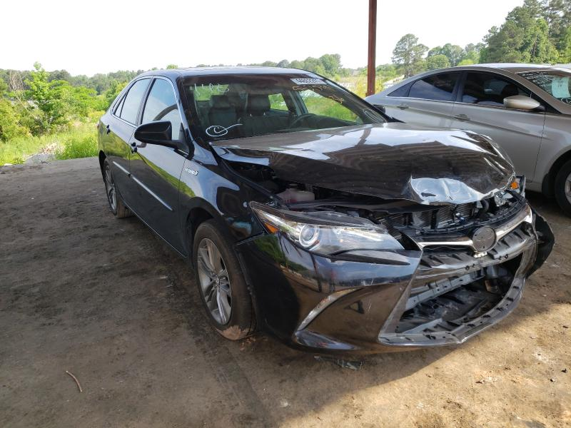 Salvage cars for sale from Copart Fairburn, GA: 2017 Toyota Camry Hybrid