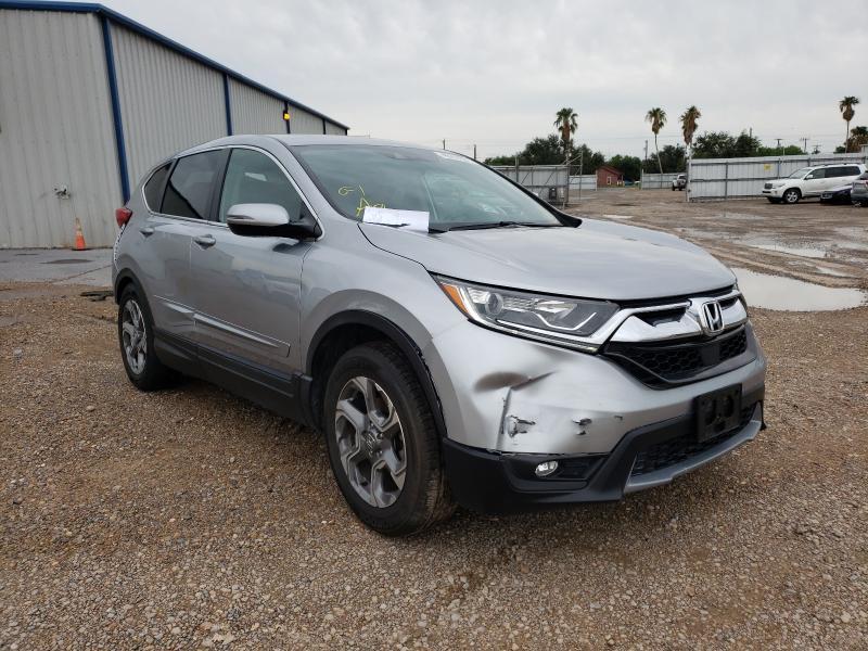 Vehiculos salvage en venta de Copart Mercedes, TX: 2018 Honda CR-V EXL