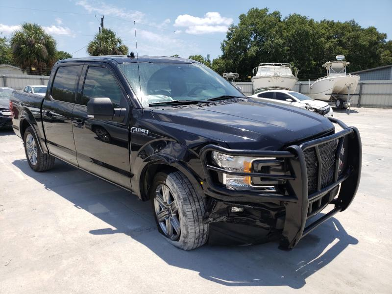 Salvage cars for sale from Copart Punta Gorda, FL: 2019 Ford F150 Super
