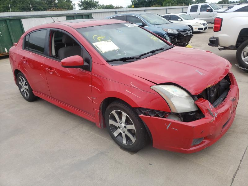 2012 NISSAN SENTRA 2.0 3N1AB6APXCL676575