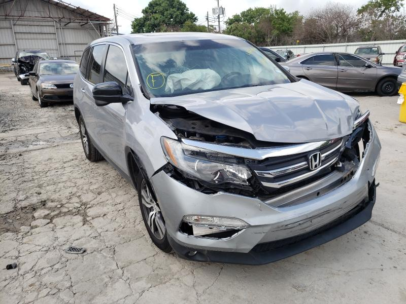 Salvage cars for sale from Copart Corpus Christi, TX: 2017 Honda Pilot EXL