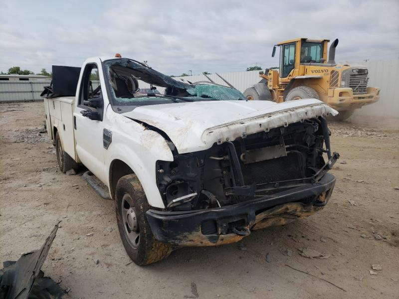 Salvage trucks for sale at Montgomery, AL auction: 2008 Ford F350 SRW S