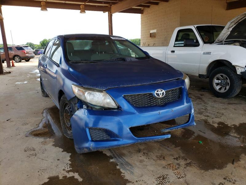 Salvage cars for sale at Tanner, AL auction: 2010 Toyota Corolla BA