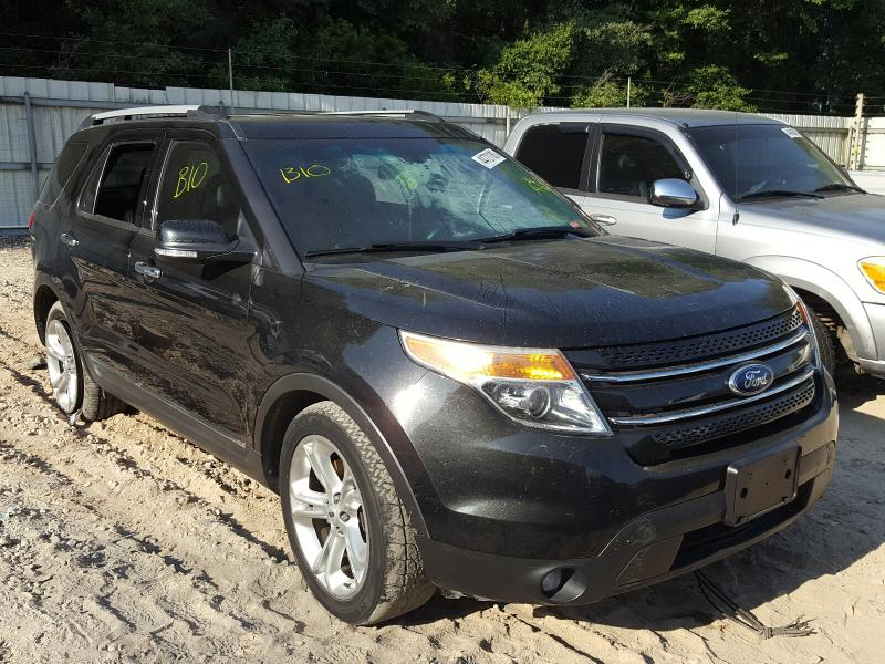 Salvage cars for sale from Copart Midway, FL: 2015 Ford Explorer L