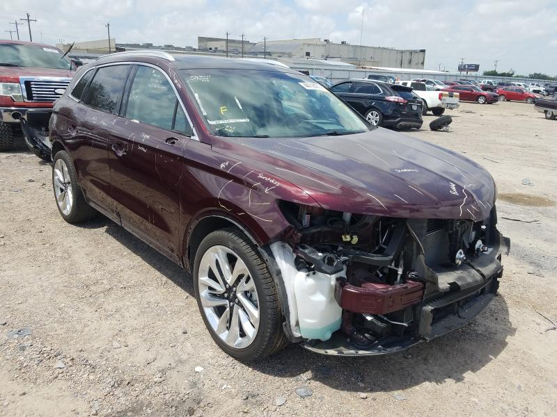 Salvage cars for sale from Copart Mercedes, TX: 2018 Lincoln MKX Reserv